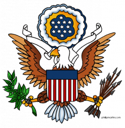 Free Government Clip Art by Phillip Martin, Great Seal of the USA ...