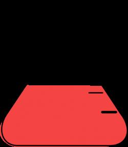 Red Flask Clip Art at Clker.com - vector clip art online, royalty ...