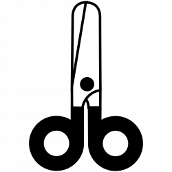 Clipart - scissors closed icon