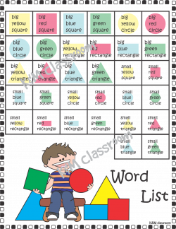2d Shapes Activities, Worksheets, Posters, Games and more