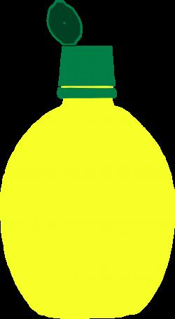 Clipart - Lemon Juice Squeeze