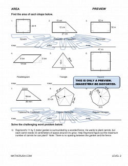 Area of Polygons Worksheets Free | Geometry worksheets and help ...