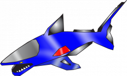 Blue-shark by nobird27 on DeviantArt