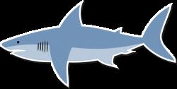 Clipart - Cartoon shark