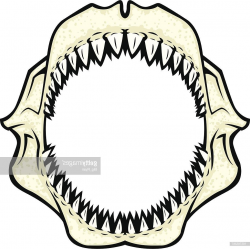 Best Shark Jaws Clip Art Design » Free Vector Art, Images ...