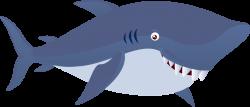Public Domain Clip Art Image | Cute Shark Animal | ID ...