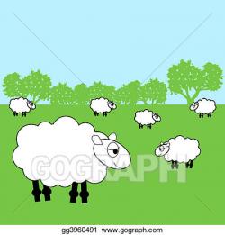 Stock Illustration - Sheep. Clipart Illustrations gg3960491 ...