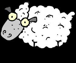 clipartist.net » Clip Art » sheep tweet super duper SVG