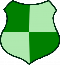 Clipart - Green Shield