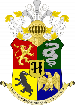 File:Coat of arms of Hogwarts.svg - Wikimedia Commons