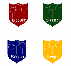 Quidditch Badges - Keeper by HogwartsLover on DeviantArt