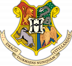 Image - Hogwarts coat of arms colored with shading.svg.png | Clash ...