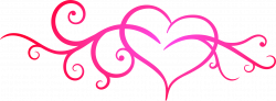Scroll clipart divider - Pencil and in color scroll clipart divider