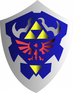 Hylian Shield by FenrirConnell on DeviantArt