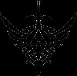 Legend of zelda logo clipart collection