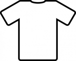 White T Shirt clip art-- for Put On/Put Off Activity (Colossians 3 ...