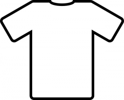 White T Shirt clip art Free vector in Open office drawing svg ( .svg ...