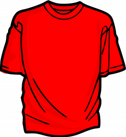 Clipart - T-Shirt-red