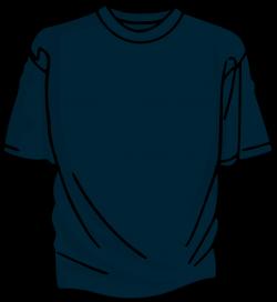 Clipart - Blue T-Shirt