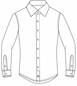 Dress Shirt Drawing at GetDrawings.com | Free for personal use Dress ...