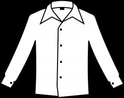 Clipart - Simple white shirt