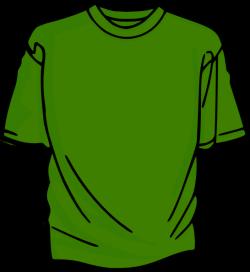 T-shirt-green Clip Art at Clker.com - vector clip art online ...