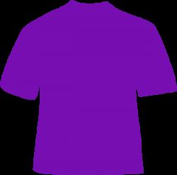 Purple Shirt Clip Art at Clker.com - vector clip art online, royalty ...