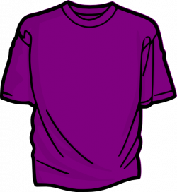 Purple T Shirt Clip Art at Clker.com - vector clip art online ...