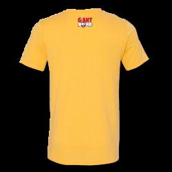 Hot Dog Patrick T-Shirt - Mustard - Giant Bomb Emporium