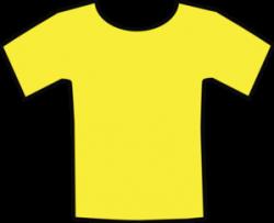 Yellow T-shirt Clip Art at Clker.com - vector clip art ...