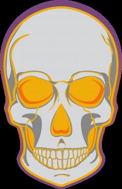 Skull Clip art - Yellow horror skull 3001*4627 transprent Png Free ...
