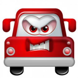 Auto Angry Icon | Free Images at Clker.com - vector clip art online ...