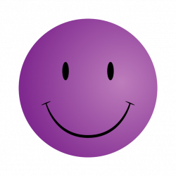 Purple clipart smiley face - Pencil and in color purple clipart ...