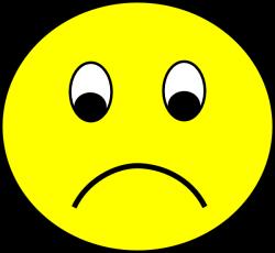 Sad Smiley Clip Art at Clker.com - vector clip art online, royalty ...