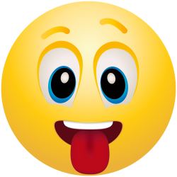 Tongue Out Emoticon Emoji Clipart Info