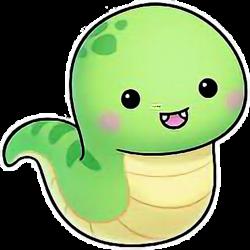petsandanimalscute kawaii snake serpent...