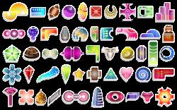 50 free website icons: gear, football, love heart, city buildings ...
