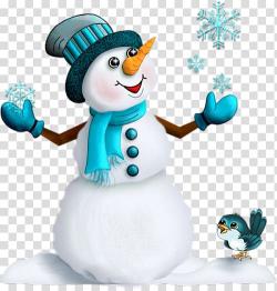 Christmas Santa Claus Snowman New Year's Day, Blue Snowman ...