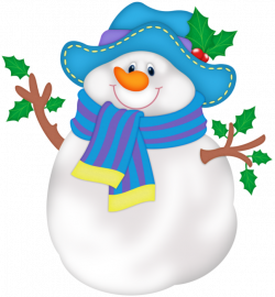 Snowman PNG with Blue Hat   Gallery Yopriceville - High-Quality ...
