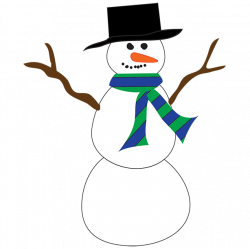 Silhouette Snowman at GetDrawings.com | Free for personal use ...
