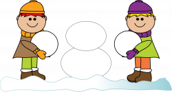 28+ Collection of Build A Snowman Clipart   High quality, free ...