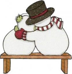 CHRISTMAS SNOWMAN COUPLE CLIP ART | CLIP ART - SNOWMAN ...