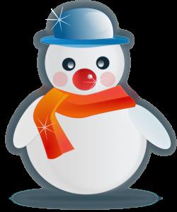 Public Domain Clip Art Image   Snowman glossy   ID: 13527262215531 ...
