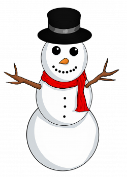 28+ Collection of Happy Snowman Clipart | High quality, free ...