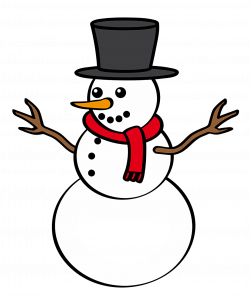28+ Collection of Free Clipart Snowman Outline | High quality, free ...