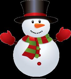Snowman Red Green transparent PNG - StickPNG