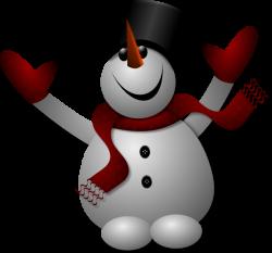 Happy Snowman Clip Art at Clker.com - vector clip art online ...