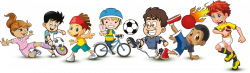 Sports Cartoon Clipart - Clip Art. Net