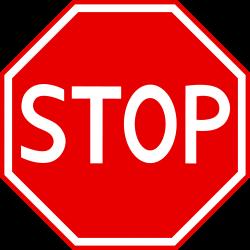 Stop Sign Clip Art - Sweet Clip Art
