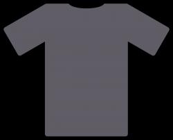 Clipart - grey t-shirt